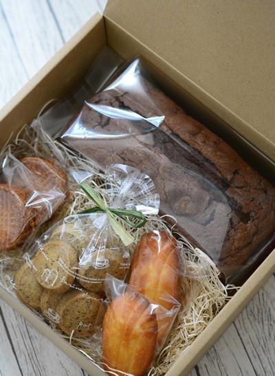 頒布会チョコパウンドケーキ