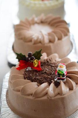 クリスマスケーキ生チョコデコレーションケーキ