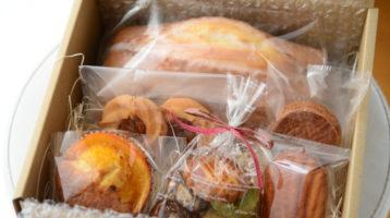 今日は、5月限定焼き菓子通販の到着日です。
